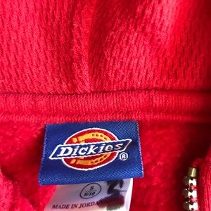 Dickies red sweatshirt boy or girls